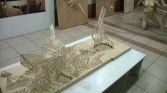 Templo de creación Propia  Basado en la linea de Nazca- Degollador Escala 1/20
