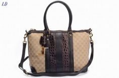 Gucci GG Canvas Shoulder Bags Dark Coffee 1