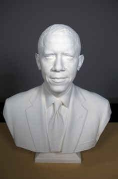 3ders.org - Barack Obama is the first President to be 3D scanned and printed | 3D Printer News  3D Printing News