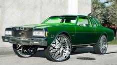 Rides Chevrolet Caprice Da Boss Vert Dayton Donk Vogue