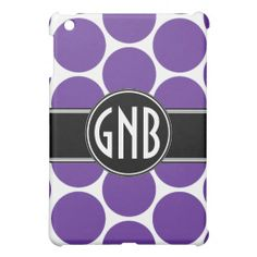 GIRLY BOLD MONOGRAM PURPLE POLKA DOTS iPad MINI COVER today price drop and special promotion. Get The best buyDeals          GIRLY BOLD MONOGRAM PURPLE POLKA DOTS iPad MINI COVER please follow the link to see fully reviews...
