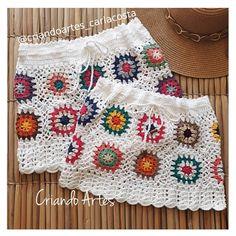 Crochet Skirts, Crochet Blouse, Crochet Clothes, Crochet Bikini, Crochet Top, Hippie Crochet, Swimsuit Pattern, Crochet Slippers, Diy Crafts To Sell