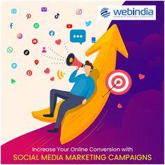 Grow Your Brand on Social Media with Social Media Marketing Campaigns. #socialmediamarketing #smm #smoservices #socialmediacampaigns #socialmediaoptimisation Social Media Marketing Agency, Digital Marketing, Campaign, Business, Business Illustration