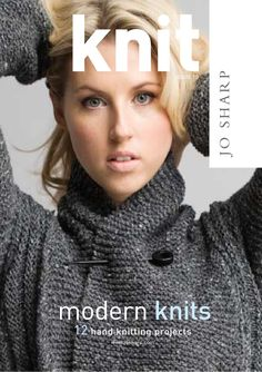 Knit 10  Knit Issue 10  ZBKNIT10  Knit issue 10 is a book of winter designs using Jo Sharp luxury knitting yarns. The book includes a Yoke cardigan, a mobius scarf, an easy garter stitch 2 way wrap, a richly textured cable skirt and a cotton t shirt. The book also includes mohair throws and a twisted scarf and much more.Available as a download from josharp.com
