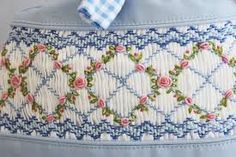 hand smocking by Power Sky Clothing Manufacturers Smocking Baby, Smocking Plates, Smocking Patterns, Embroidery Patterns, Hand Embroidery, Sewing Patterns, Skirt Patterns, Coat Patterns, Blouse Patterns