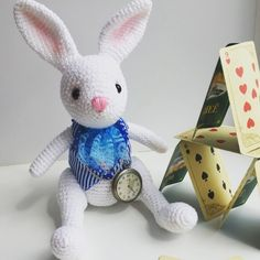 Cute bunny amigurumi pattern free