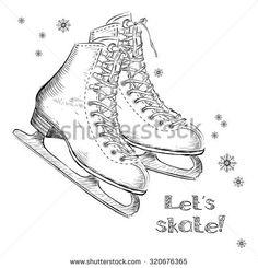 Картинки по запросу circle skate flat sketch