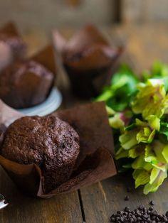 Как приготовить шоколадные маффины, пошаговый рецепт с фото, блог и интернет-магазин andychef.ru