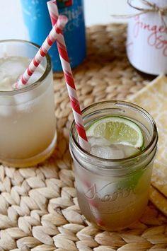 Ginger syrup recipe for ginger ale!