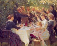 """""""Garden Party"""" Pierre Auguste Renoir  #Art #Impressionism"""