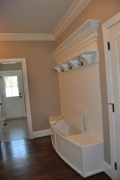 drop zone designs | Back Entry Seat Design Ideas, Pictures, Remodel, and Decor