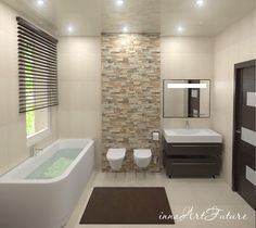 Badewanne an die Wand geklebt - Badezimmer design - Add A Bathroom, New Bathroom Ideas, Bathroom Tile Designs, Laundry In Bathroom, Bathroom Styling, Bathroom Interior Design, Bathroom Inspiration, Modern Bathroom, Dream Bathrooms