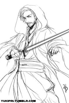 Obi-Wan by Yukipri on Tumblr