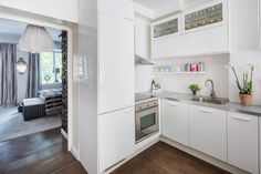 I found another apartment for sale on Lagerlings that I had to share. This one is spunky and fu...