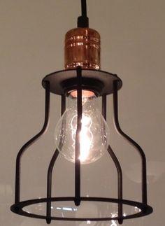 Medium Copper Black Pendant Interior Lighting, Kitchen Lighting, Pendant Lighting, Interior And Exterior, Copper, Ceiling Lights, Medium, Black, Home Decor