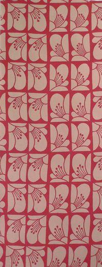 Japanese tenugui pattern【さんかつ】手ぬぐい「椿並び」