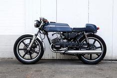 Yamaha RD125 Cafe Racer Motorrad Umbau