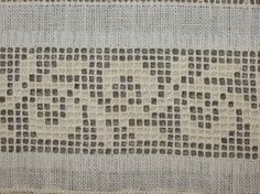 Drawn Thread sampler Band 34 - stitchin fingers