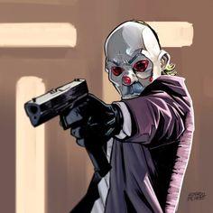 Joker Heath, Joker Batman, Comic Del Joker, Joker Art, Batman Comics, Joker And Harley, Foto Cartoon, Dope Cartoon Art, Comic Books Art