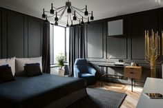 Eclectic Skyline Residence by Sergey Makhno (7)