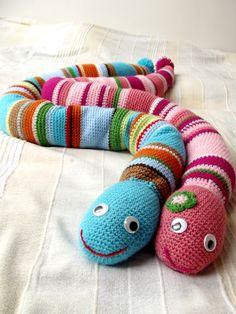 crochet snakes
