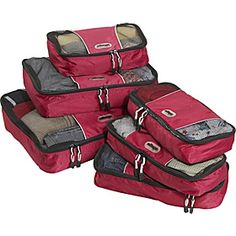 These are a MUST for travel...we LOVE them.  Make sure you get a different coloured set for each family member. ;)