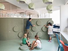 Daniel Valle Architects realizes an adaptable partition wall for South Korean elementary school - News - Frameweb
