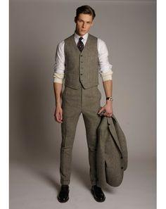 Everything Tweed Billy Reid 3 pc. suit