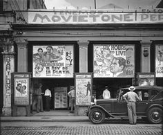 Cinema, Havana, 1933 - Walker Evans: images from the father of American documentary photography Best known for capturing the Great Depression in the 1930s, Walker Evans photographed American life for nearly 70 years.