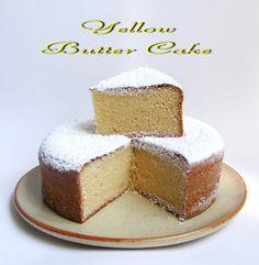 Base per torte da decorare: Yellow Butter Cake..