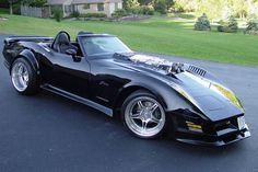 Twin Supercharged Corvette