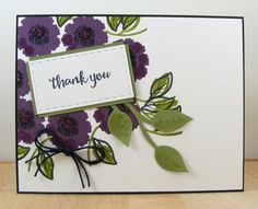 Hampton Art Blog: Thank You card by Beverly Sizemore
