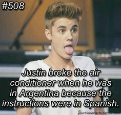 Oh Justin! Lol i love him so much