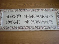 Wall Decor using the Gypsy Font on the Cricut machine in vinyl.