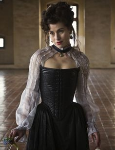 Maimie McCoy as Milady de Winter in The Musketeers