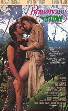 Romancing The Stone. Robert Zemeckis One of my favourite romance movies ever. Old Movies, Vintage Movies, Great Movies, Romancing The Stone, Love Movie, Movie Tv, Perfect Movie, Cultura Nerd, Bon Film