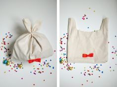 A bunny gift bag! Now is the time to utilize all the scraps in your sewing kit! To see how to make this easy re-usable gift bag, visit: http://caseybaudoin.blogspot.com/2012/04/handmade-easter-crafting.html#