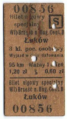 Bilecik 23.09.1938 r. Brześć n Bug. Cent. - Łuków