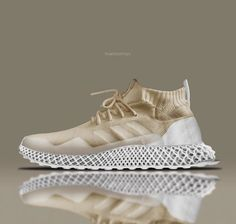 Damn, I love these 3D printed version of sneakers.