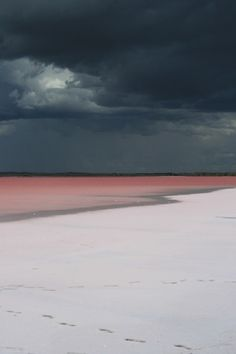Storm over the ocean in Australia The Ocean, Pink Lake Australia, Western Australia, Beautiful World, Beautiful Places, All Nature, Belle Photo, Wonders Of The World, Serenity