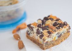 Trail Mix Magic Bars