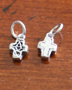 sm filigree cross  http://www.kandsimpressions.com/product/accent-charms/small-filigree-cross/#