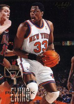 RARE 96/97 FLEER PATRICK EWING NEW YORK KNICKS MINT