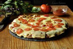 Hawaiian Pizza, Pepperoni, Vegetable Pizza, Italian Recipes, Healthy Recipes, Healthy Food, Foodies, Food And Drink, Vegetables