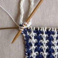 Vævestrikkede håndklæder | Gratis strikkeopskrifter | Strikkeglad.dk Knitting Stitches, Hand Knitting, Knitting Patterns, Sewing Patterns, Slip Stitch, Dish Towels, Washing Clothes, Color Patterns, Stitch Patterns