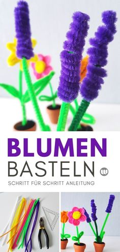 Pfeifenputzer Blumen basteln: Einfache DIY Anleitung für Kinder Pipe Cleaner Making Flowers: Simple Step by Step DIY Instructions Related posts: Simple, fun DIY activities that you can do with your kids Sew Simple Laptop Bag Diy Gifts For Dad, Diy Gifts For Boyfriend, Best Friend Gifts, Best Gifts, Pipe Cleaner Flowers, Diy Crafts Love, Spring Decoration, Textiles, Simple Gifts