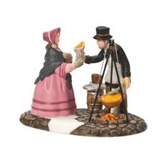 Department 56 Dickens' Village Fish N' Chip To Go Accessory Figurine from Department 56