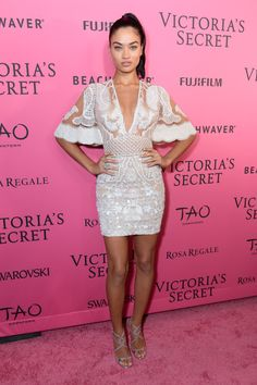 See What the Victoria's Secret Angels Wore to the After Party  - HarpersBAZAAR.com