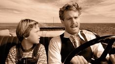 ON THE ROAD: Tatum and Ryan O'Neal star in Paper Moon, which is playing at PSU this week. Description from psuvanguard.com. I searched for this on bing.com/images