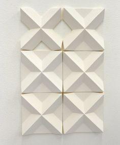 wall installation ( ) by Agnieszka Robak 2012 Wood Tile Texture, 3d Texture, 3d Pattern, Marble Pattern, Wall Patterns, Textures Patterns, 3d Wall Tiles, Prusa I3, 3d Wall Panels
